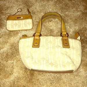 Fossil Mini Purse with Matching Coin Purse